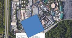 How Big 14 Acres is from yourfirstvisit.net | The size of the Hollywood Studios' Star Wars Expansion