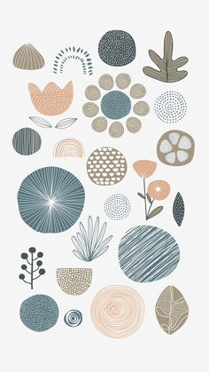 Natural patterned doodle background vector premium image by Cute Wallpapers, Wallpaper Backgrounds, Wallpaper Desktop, Disney Wallpaper, Wallpaper Quotes, Drawing Wallpaper, Vinil Wallpaper, Pattern Art, Pattern Design