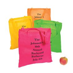 Personalized+Large+Nonwoven+Neon+Color+Tote+Bags+-+OrientalTrading.com
