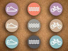 54 Triathlon sticker
