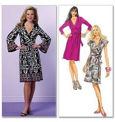 Butterick 5454 from Butterick patterns is a Misses' Dress sewing pattern