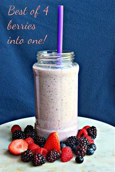 Begin your day with this power drink! 4 berries in 1!