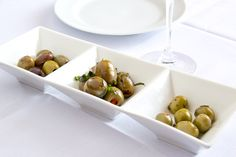Bellisio's olive plate Italian Village, Italian Recipes, Restaurant, Plates, Fruit, Food, Licence Plates, Plate, Meal