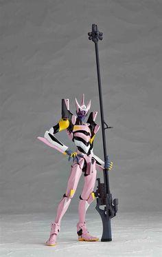 """Revoltech Yamaguchi Series No. 134 """"Rebuild of Evangelion"""" Evangelion 08 alpha #Evangelion #Figure #Otacute"""