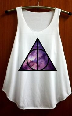 Deathly Hallows Shirt Harry Potter Shirts Tank Top by ABBEYSTORE, $14.99