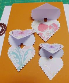 Serendipity Dragonfly: Triple Heart Easel Card Tutorial.........picture heavy!!!