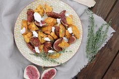 suesskartoffelsalat-feigen-ziegenkaese süßkartoffel rezept