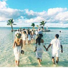 Fiji - need to find out where!! Sandbar wedding, amazing & intimate