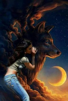 New Arrivals - 🏵 🐺DIY Beautiful Wolf Crafts,Activities,Gifts & Decor? Fantasy Wolf, Dark Fantasy Art, Fantasy Artwork, Anime Wolf, Fantasy Creatures, Mythical Creatures, Wolf Craft, Wolves And Women, Wolf Artwork