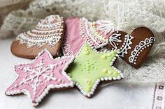 Receita de Biscoitos de Gengibre - Gingerbread Cookies
