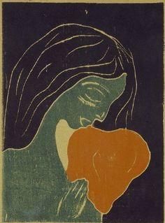 Edvard Munch (1863–1944) - The Heart (Das Herz), 1899