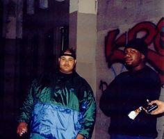 Fat Joe & KRS-One way back doing graffiti. 90s Hip Hop, Hip Hop Rap, Krs One, Fat Joe, Home Studio Music, Hip Hop Fashion, Reggae, My Idol, Graffiti