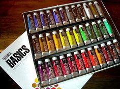Liquitex Basics Acrylic Paints- Set of 36 Colors