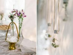 Wedding Reception Decorations, Wedding Centerpieces, Table Decorations, Our Wedding Day, Farm Wedding, Hanging Light Bulbs, Wooden Arbor, Glass Centerpieces, Centre Pieces