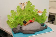 Mike's Amazing Cakes-awesome but the giraffe spoils it for me-there is no giraffe in the story nor in India' and if the cake is for a child they will notice it doesn't belong