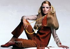 Fashion Fringed Suede Jackets 60s, General, Fringed Suede Jackets 1968  (c) TopFoto / Alinari Archives
