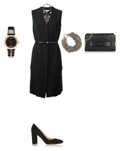 """""""Untitled #816"""" by elenekhurtsilava ❤ liked on Polyvore featuring Victoria, Victoria Beckham, Bea Valdes, Ann Demeulemeester, Gianvito Rossi, Vivienne Westwood, Chloé and shirtdress"""