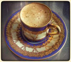 Espresso à la art nouveau.