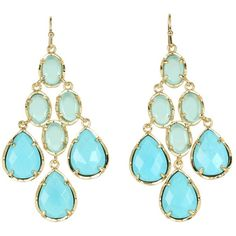 Kendra Scott Amelia Earring ($90) found on Polyvore