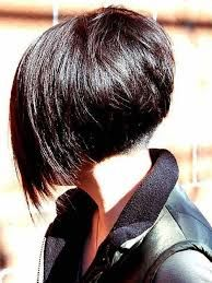 Short Stacked Bob Haircuts Back View