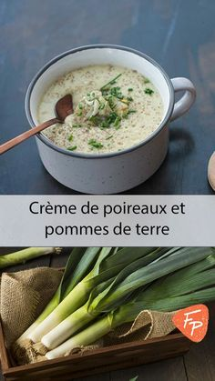 Soup Legumes Poireaux Ideas For 2019 Healthy Crockpot Recipes, Vegan Recipes, Cooking Recipes, Potato Recipes, Soup Recipes, Recipes Dinner, Prune Recipes, Gluten Free Soup, Crock Pot Soup