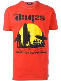 surfer sunset T-shirt