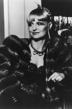 Barbara Hulanick is a Warsaw-born fashion designer, known for being the founder of the iconic clothes store Biba, 1975.