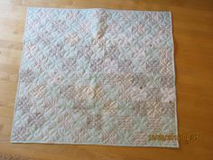 Baby/Crib quilt by carmenjass on Etsy