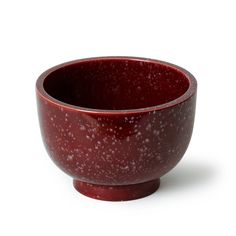 Footed Bowl with Porphyry-Emulating Glaze by Wilhelm Kåge for Gustabsberg | From a unique collection of antique and modern bowls and baskets at https://www.1stdibs.com/furniture/decorative-objects/bowls-baskets/