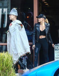 Justin Bieber & Hailey Baldwin —PICS