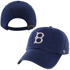 7f6c9856778 Brooklyn Dodgers  47 Brand 1939 Cooperstown Collection Basic Logo Cleanup  Adjustable Hat - Royal Blue