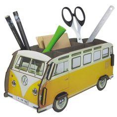 """Werkhaus Shop - VW T1 """"Gelb"""" - Stiftebox"""