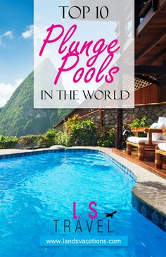 Discover the best views with these top 10 plunge pool destinations! Great Vacations, Romantic Vacations, Romantic Getaway, Beach Vacations, Destination Wedding Locations, Honeymoon Destinations, Amazing Destinations, Honeymoon Ideas, Best Of Journey