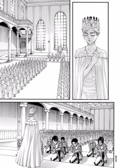 Beautiful queen Historia