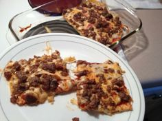NO Dough Pizza  Low Carb Cream Cheese Pizza Crust