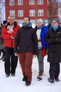 princesse héritière Mette Marit de Norvège & Haakon de Norvège