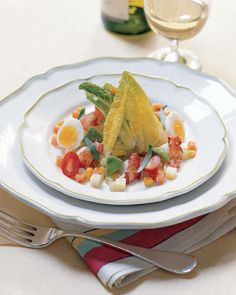 A classic salad is updated with that quintessential East Coast summer luxury—lobster.