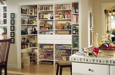 adding effective storage to your pantry.     Look at the onions in the wire baskets.