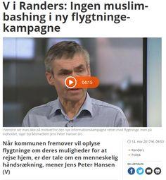 Jeg har overhovedet ingen problemer med, at en informationskampagne om flygtninges muligheder for støtte til at vende tilbage til deres hjemland er en del af budgetaftalen indgået mellem Venstre og DF.