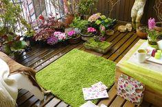 dream gardens: Môj balkón v skorú jar. V trendovej farbe roka 2017 GREENERY