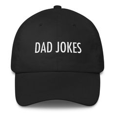 DAD JOKES Embroidered Dad Hat