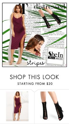 """""""shein 2/VI"""" by obsessedwithnicestuff ❤ liked on Polyvore featuring Sheinside, shein and loveshein"""