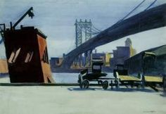 manhattan pont - (Edward Hopper)