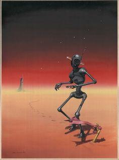 Mel Hunter - Magazine of Fantasy & Science Fiction December 1959