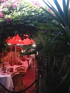 A Restaurant in St. Paul Vence