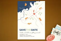 Save The Date Postcards   Minted