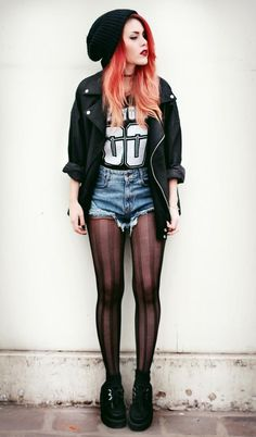 1000+ Images About Grunge Summer To Fall On Pinterest | Grunge Beanie And One Teaspoon Shorts