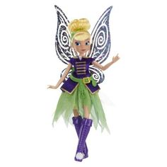 "Disney Fairies The Pirate Fairy 9"" Tink Doll"