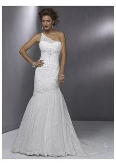 A-line Chiffon Size 14 Wedding Dress For Sale | Still White South Africa