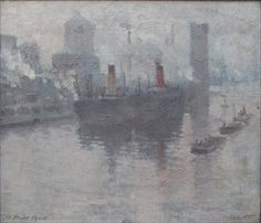 Adolph Vallette. Manchester Ship Canal.